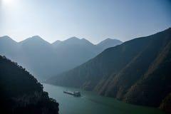 Three Gorges ущелья Yangtze River Valley Стоковая Фотография RF
