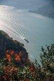 Three Gorges ущелья Yangtze River Valley Стоковые Изображения RF