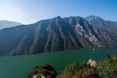 Three Gorges ущелья Yangtze River Valley Стоковое Изображение