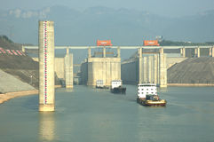 Free Three Gorges Dam Royalty Free Stock Photo - 1414445