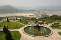 Three Gorges Dam Royalty Free Stock Photos