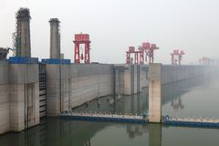 Free Three Gorges Dam Royalty Free Stock Images - 19800879