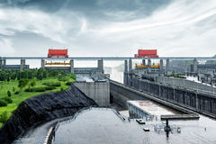 Three Gorges Dam, China Stock Images