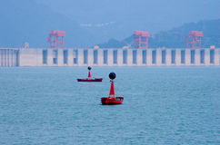 Three Gorges Dam royalty free stock images