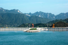 Three Gorges Dam 6 Royalty Free Stock Photos
