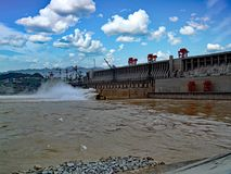 Three Gorges Dam Stock Image