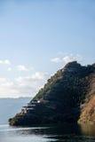 Three Gorges de la gorge Chijia rouge Chijia Lou du fleuve Yangtze Qutang Photo stock