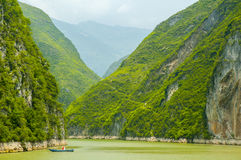 Three Gorges, der Jangtse Stockfoto