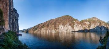 Three Gorges der Schlucht des Jangtses Qutangxia Lizenzfreie Stockfotografie