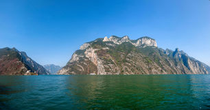 Three Gorges do desfiladeiro de Yangtze River Valley Imagem de Stock Royalty Free