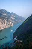 Three Gorges do desfiladeiro de Yangtze River Valley Fotos de Stock Royalty Free