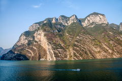 Three Gorges do desfiladeiro de Yangtze River Valley Imagens de Stock Royalty Free