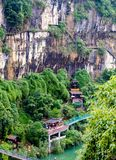 Three gorges mountain royalty free stock photography