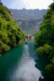 The Three Gorges scenery Stock Photo