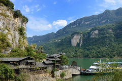The Three Gorges scenery1 Royalty Free Stock Photography