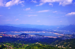 Three Gorges scenery Royalty Free Stock Photography