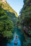 Three Gorges Tribe Scenic Spot along the Yangtze River Stock Images