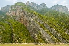 Three gorges, Yangtze river Royalty Free Stock Photo