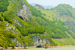 Three gorges, Yangtze river Royalty Free Stock Images