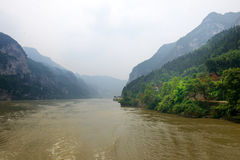 The Three Gorges of the Yangtze River Royalty Free Stock Photo