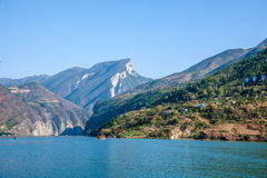 Three Gorges of the Yangtze River Qutangxia Gorge Stock Images