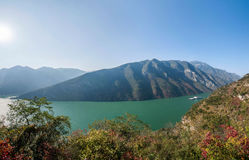 Three Gorges of the Yangtze River Valley Gorge Royalty Free Stock Images
