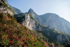 Three Gorges of the Yangtze River Valley Gorge Royalty Free Stock Photos