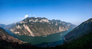 Three Gorges of the Yangtze River Valley Gorge Royalty Free Stock Photo