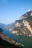 Three Gorges of the Yangtze River Valley Gorge Royalty Free Stock Image