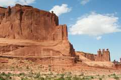 The Three Gossips - Arches National Park Royalty Free Stock Photography