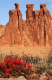 Three Gossips in Arches Royalty Free Stock Photo
