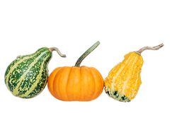 Three gourds Royalty Free Stock Images