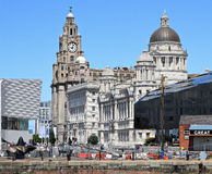 Three Graces, Liverpool Stock Images