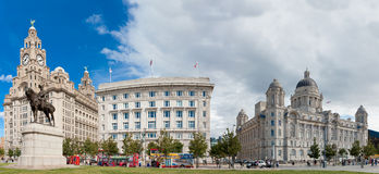 The Three Graces, Liverpool Stock Photography