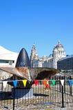The Three Graces, Liverpool. Stock Photos