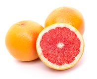 Three grapefruits Royalty Free Stock Photos