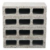 Isolated Construction Blocks - Three Royalty Free Stock Photography