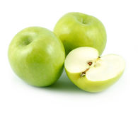 Free Three Green Apples Stock Photography - 4678922