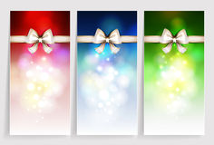 Three  Greeting card Stock Photography