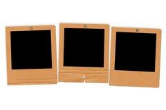 Three grunge slides Stock Image