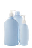 Hair and Skin care bottles Stock Photography