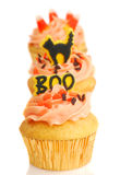 Three Halloween Cupcakes Stock Photography