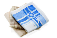 Three handkerchiefs Stock Photo