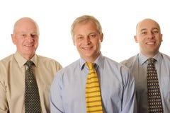 Three happy businessman Royalty Free Stock Photo