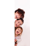 Three happy girls Royalty Free Stock Photography