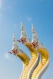 Three head of Naga Royalty Free Stock Images