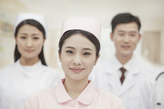 Three Healthcare workers, portrait Stock Photography