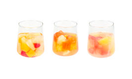 Three Healthy Fruit Cocktails Stock Photos