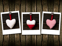 Three heart Stock Photo