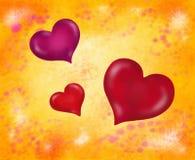 Three Hearts (2016) Stock Image